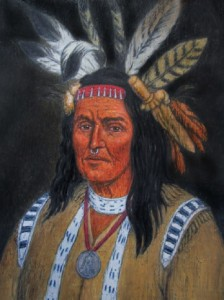 Shawnee Indian Chief Cornstalk 1720-1777 - Source: http://freepages.genealogy.rootsweb. ancestry.com/~fennast /Newell Mason.htm